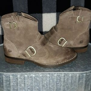 Leather Ankle Boots by BORN